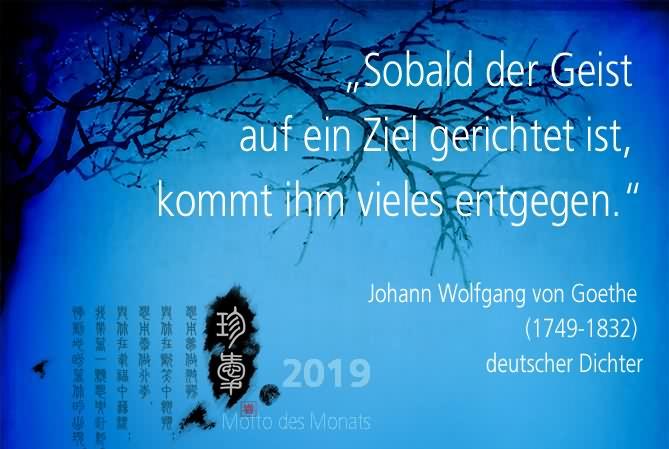 Motto des Monats Februar